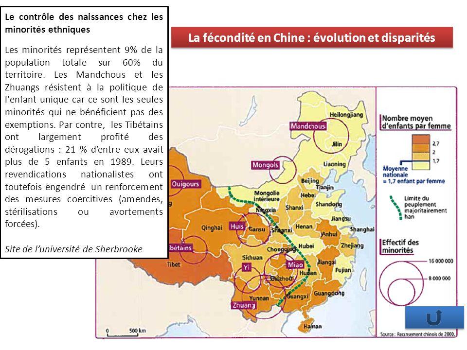 La fécondité en Chine : évolution et disparités