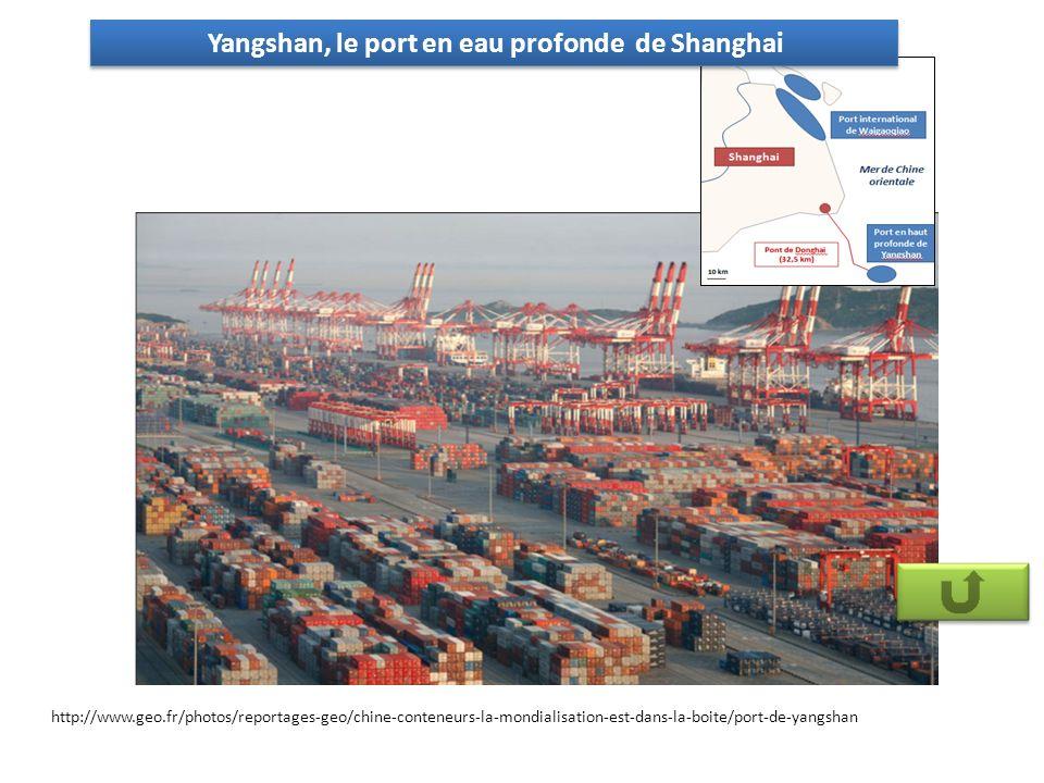 Yangshan, le port en eau profonde de Shanghai