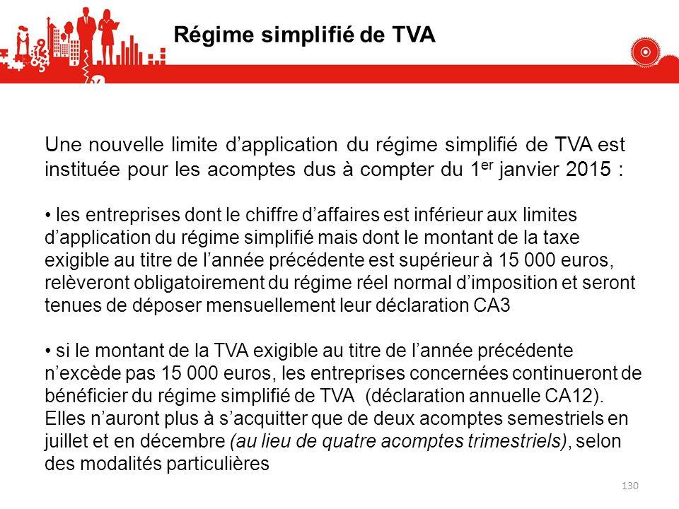Régime simplifié de TVA