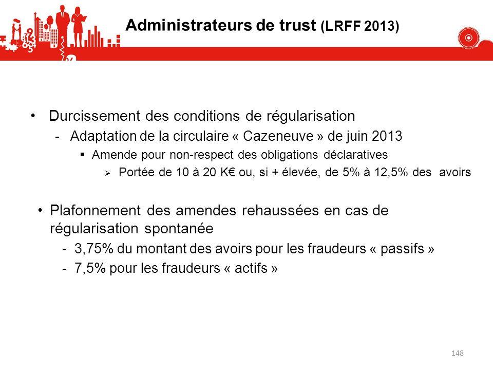 Administrateurs de trust (LRFF 2013)
