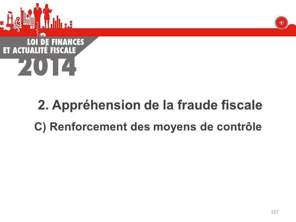 2. Appréhension de la fraude fiscale