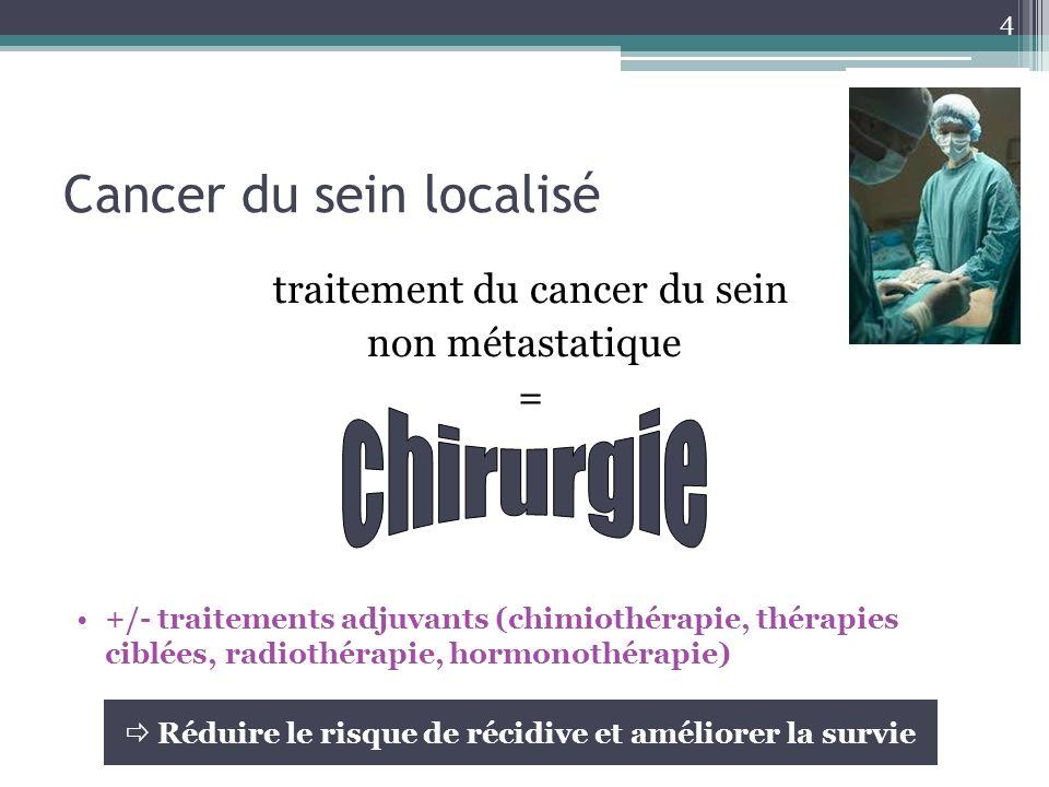 Cancer du sein localisé