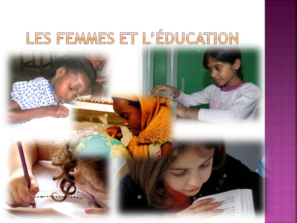 Les femmes et l'éducation