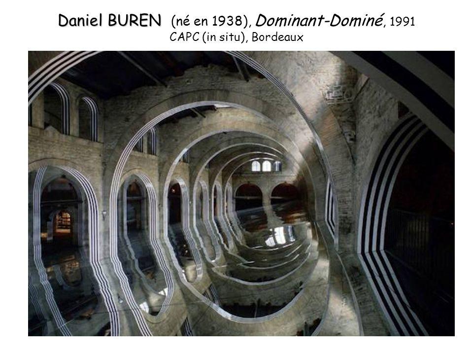 Daniel BUREN (né en 1938), Dominant-Dominé, 1991