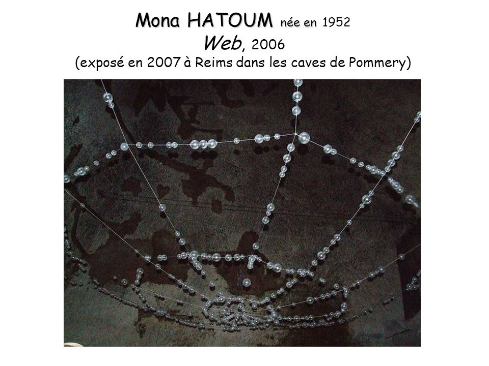 (exposé en 2007 à Reims dans les caves de Pommery)