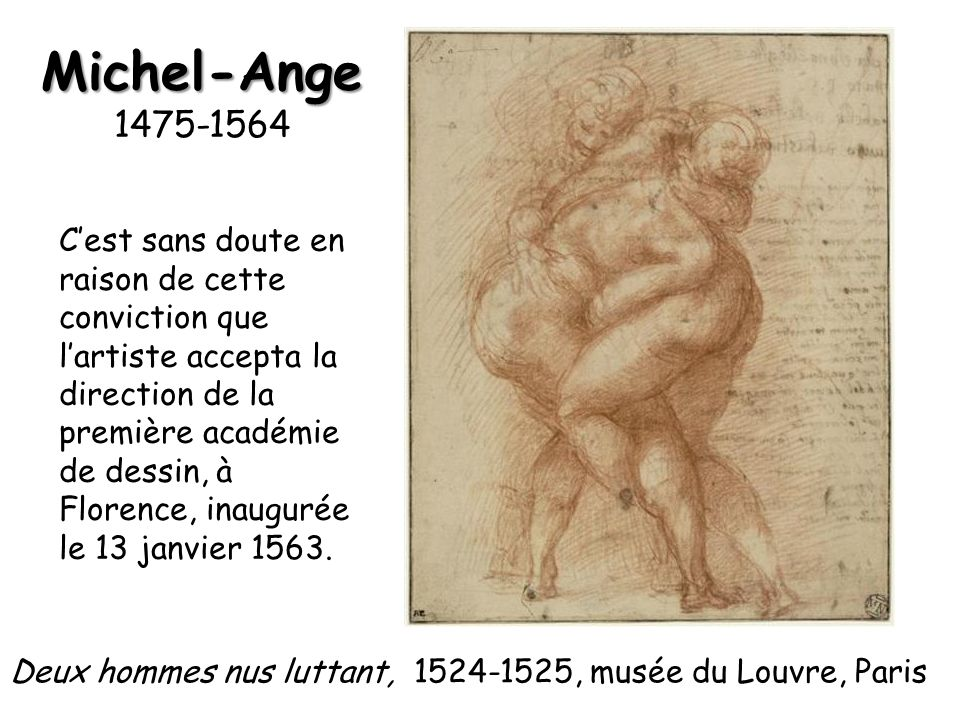 Michel-Ange 1475-1564