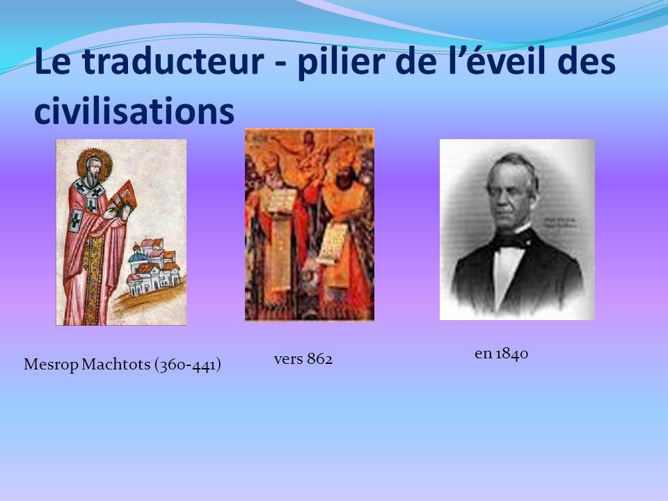 Le traducteur - pilier de l'éveil des civilisations