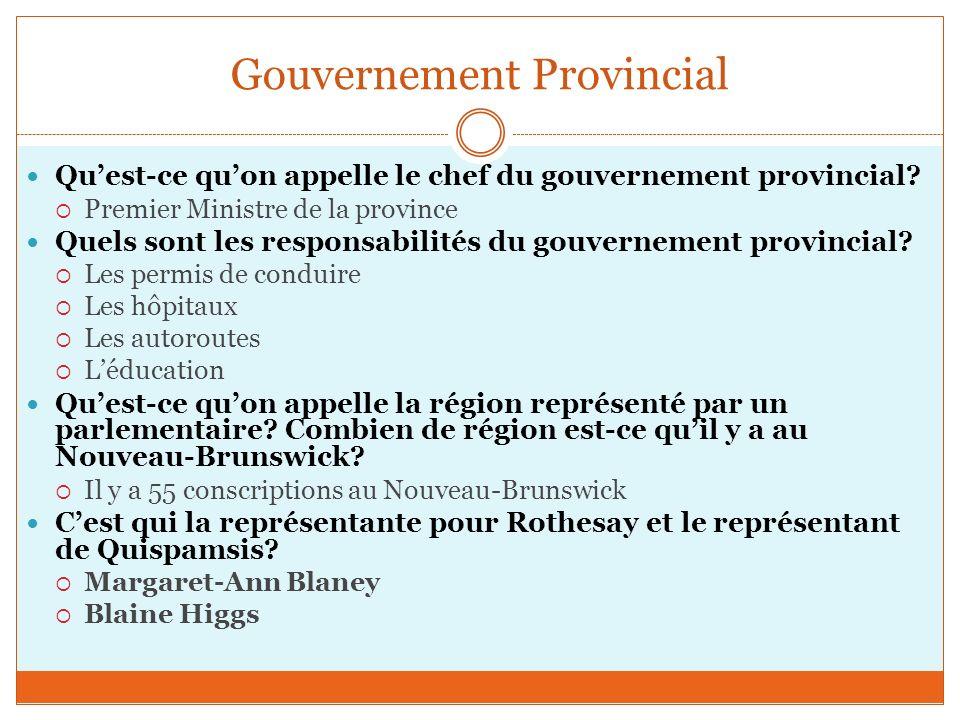 Gouvernement Provincial