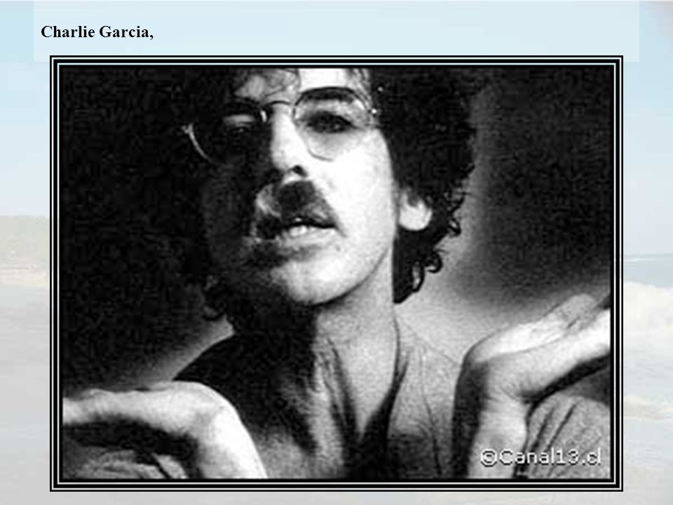 Charlie Garcia,