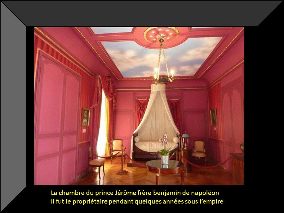 La chambre du prince Jérôme frère benjamin de napoléon