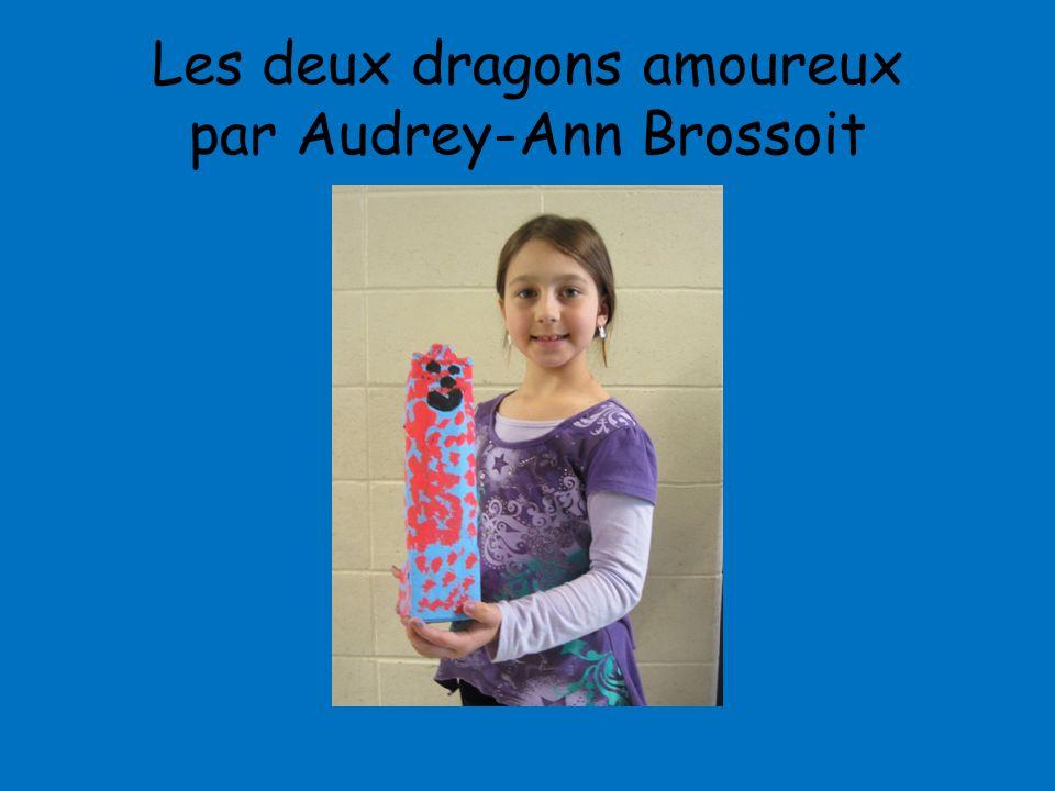 Les deux dragons amoureux par Audrey-Ann Brossoit