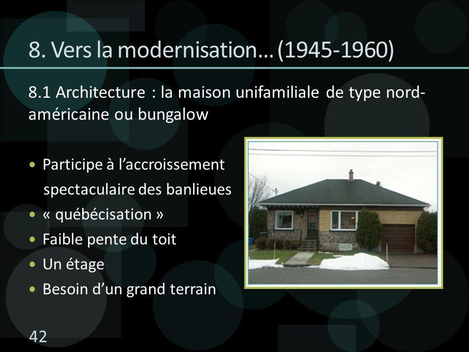 8. Vers la modernisation… (1945-1960)