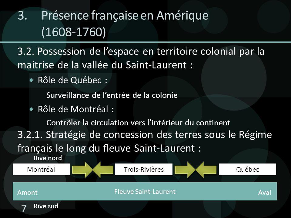 Présence française en Amérique (1608-1760)