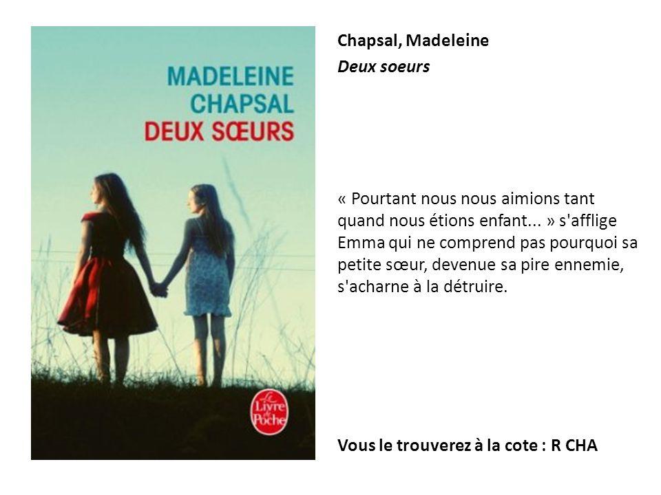 Chapsal, Madeleine Deux soeurs.