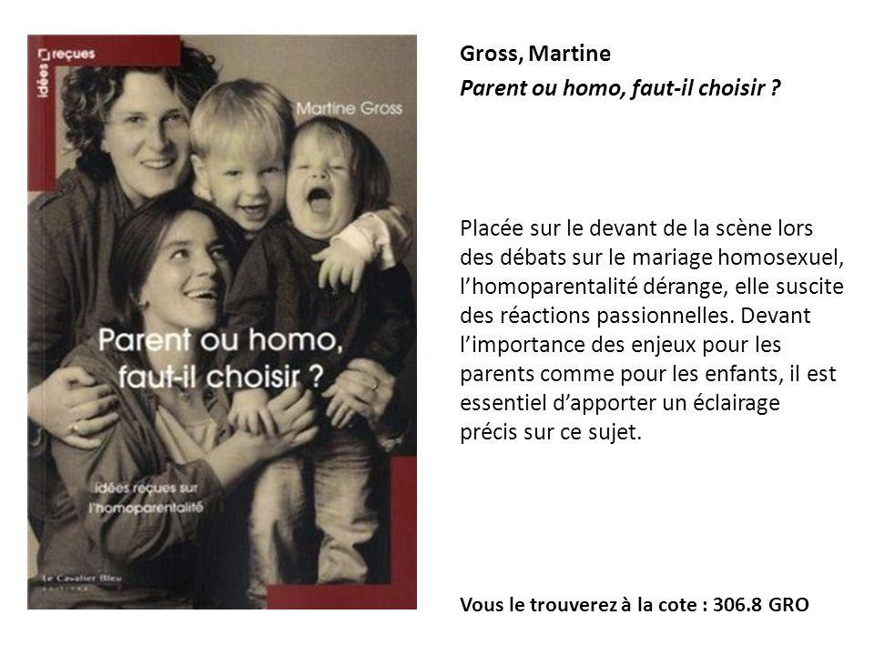 Parent ou homo, faut-il choisir