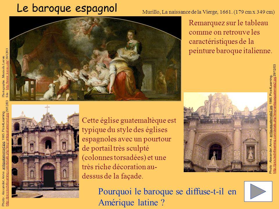 Le baroque espagnol Murillo, La naissance de la Vierge, 1661. (179 cm x 349 cm)