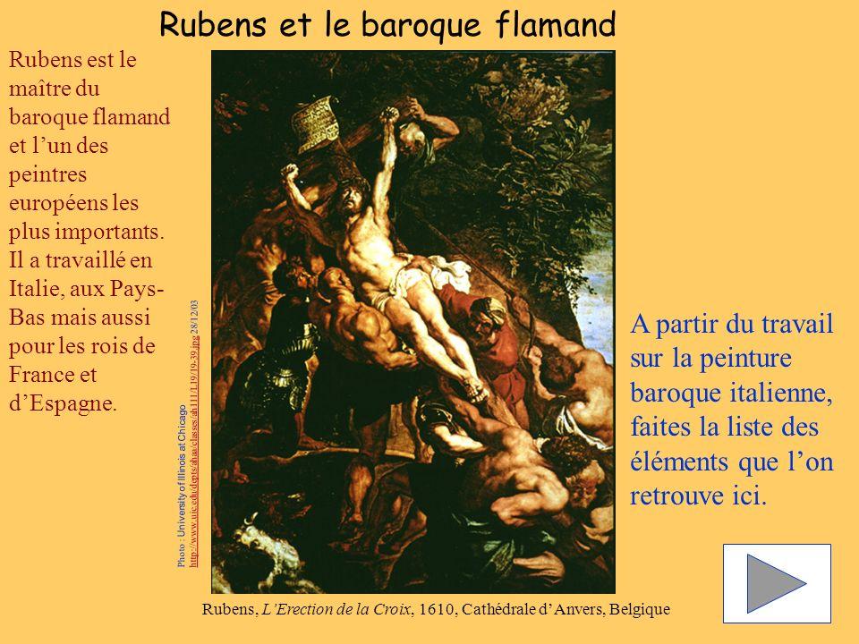 Rubens et le baroque flamand