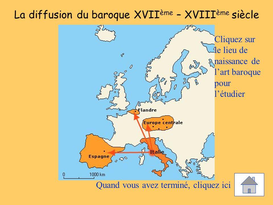 La diffusion du baroque XVIIème – XVIIIème siècle