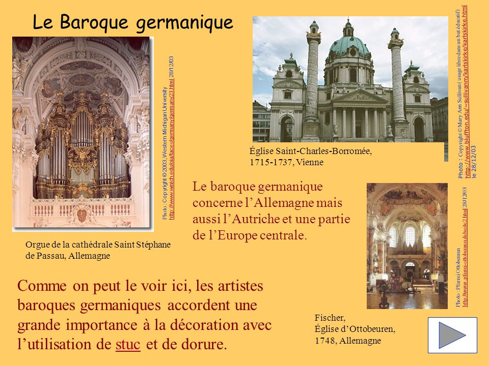 Le Baroque germanique