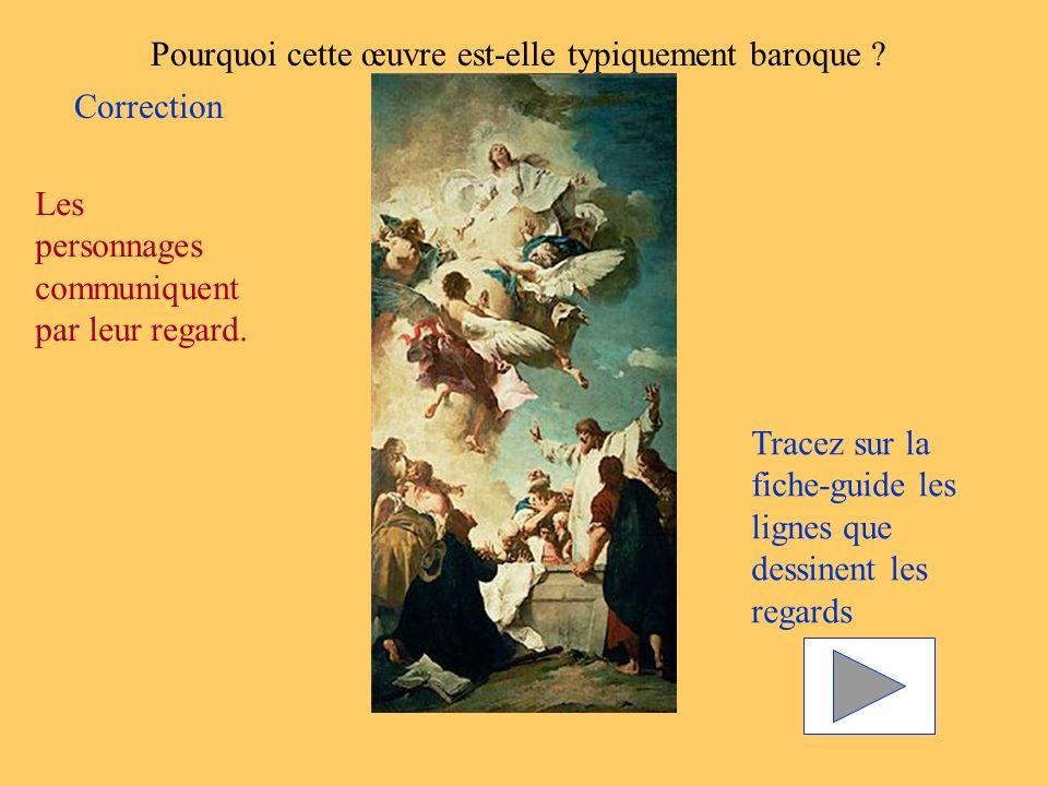 Pourquoi cette œuvre est-elle typiquement baroque