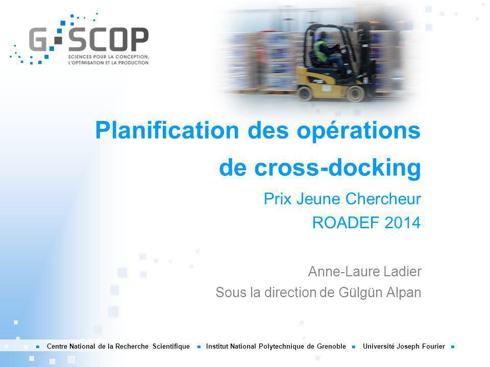 Planification des opérations de cross-docking