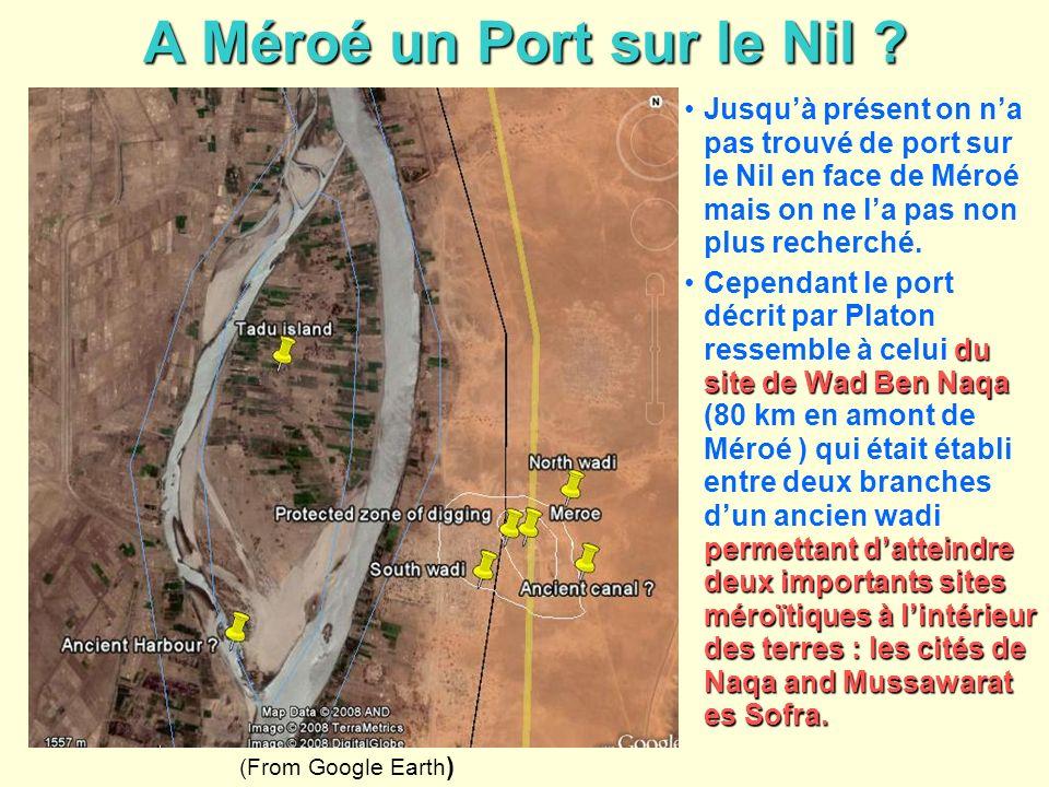 A Méroé un Port sur le Nil