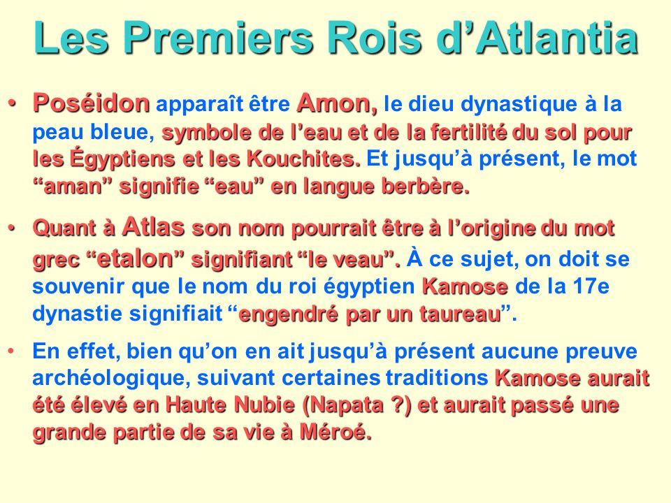 Les Premiers Rois d'Atlantia