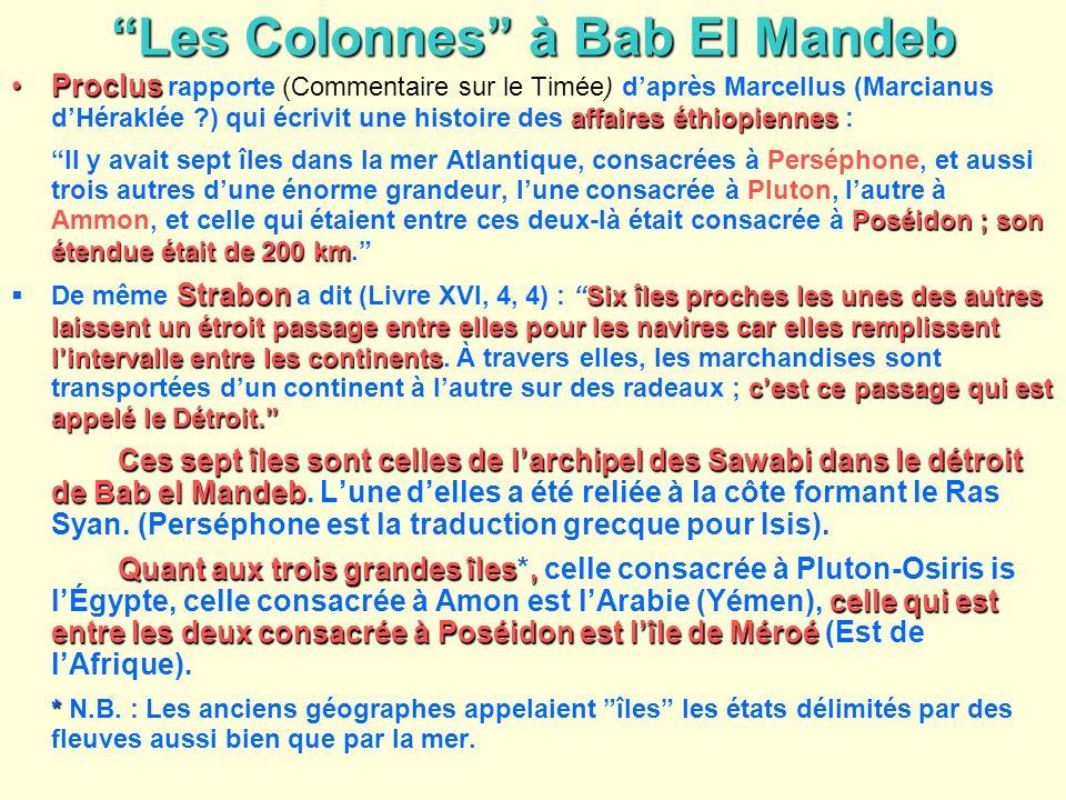 Les Colonnes à Bab El Mandeb