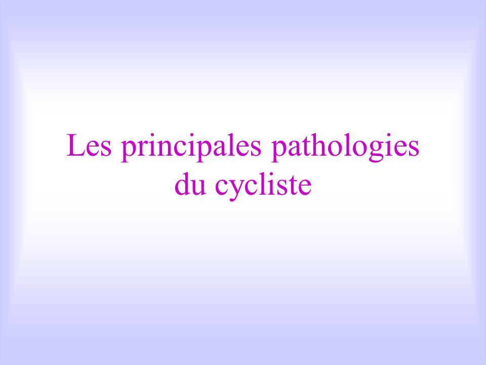 Les principales pathologies du cycliste