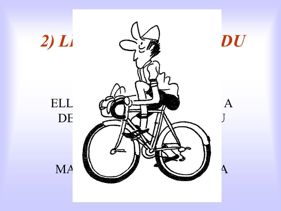2) LES PATHOLOGIES DU CYCLISTE D'après Vincent Blondeau Source : portail running cyclisme