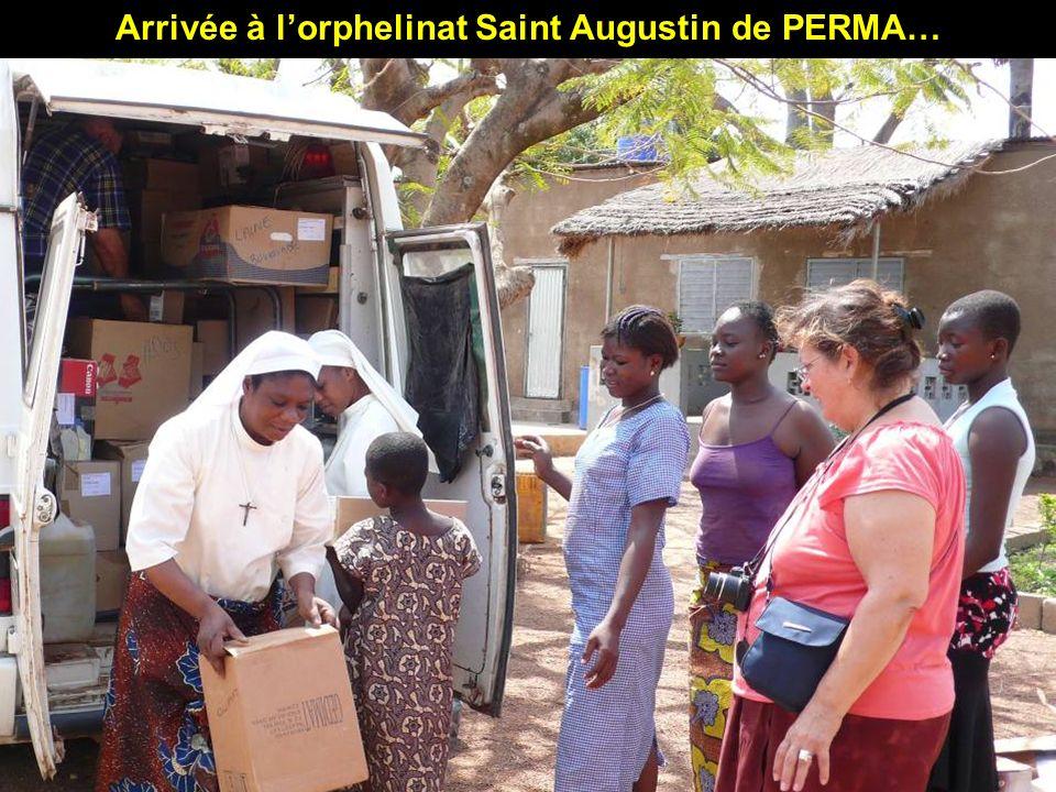 Arrivée à l'orphelinat Saint Augustin de PERMA…