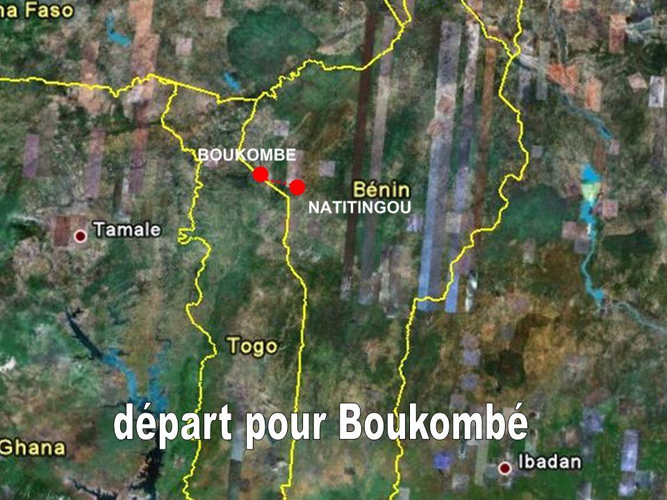 départ pour Boukombé
