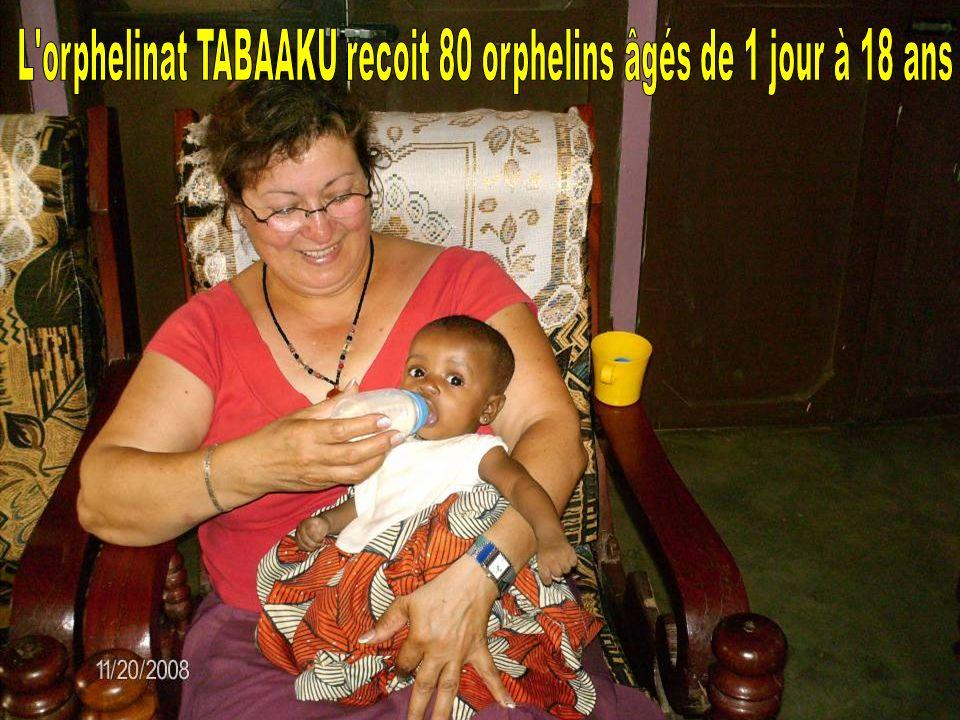 L orphelinat TABAAKU recoit 80 orphelins âgés de 1 jour à 18 ans