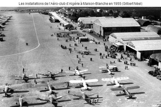 Les installations de l'Aéro-club d'Algérie à Maison-Blanche en 1955 (Gilbert Nëel)