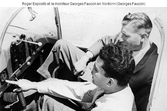 Roger Esposito et le moniteur Georges Faucon en Norécrin (Georges Faucon)
