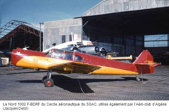 Le Nord 1002 F-BDRF du Cercle aéronautique du SGAC, utilisé également par l'Aéro-club d'Algérie (Jacques Delol)