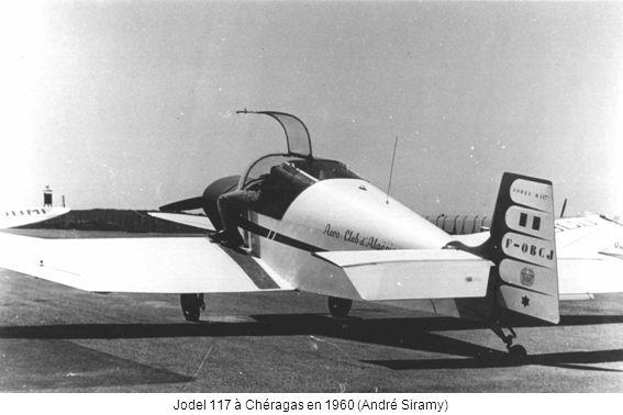 Jodel 117 à Chéragas en 1960 (André Siramy)