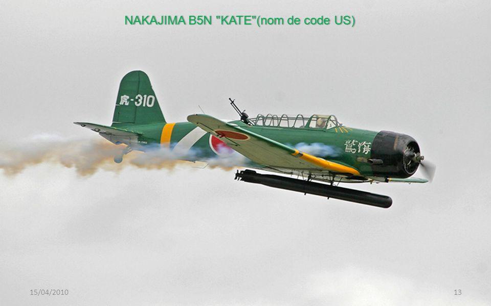 NAKAJIMA B5N KATE (nom de code US)