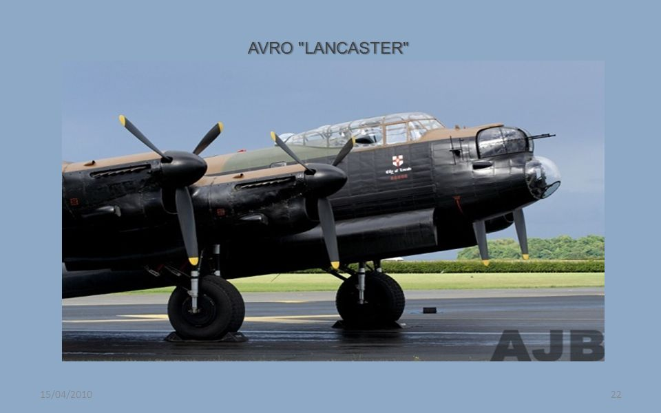 AVRO LANCASTER 15/04/2010