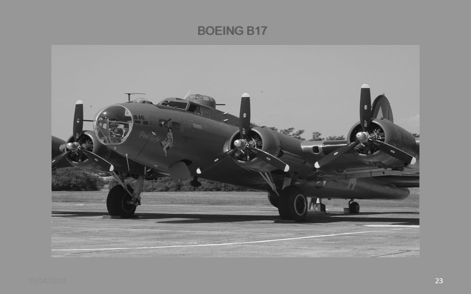 BOEING B17 15/04/2010