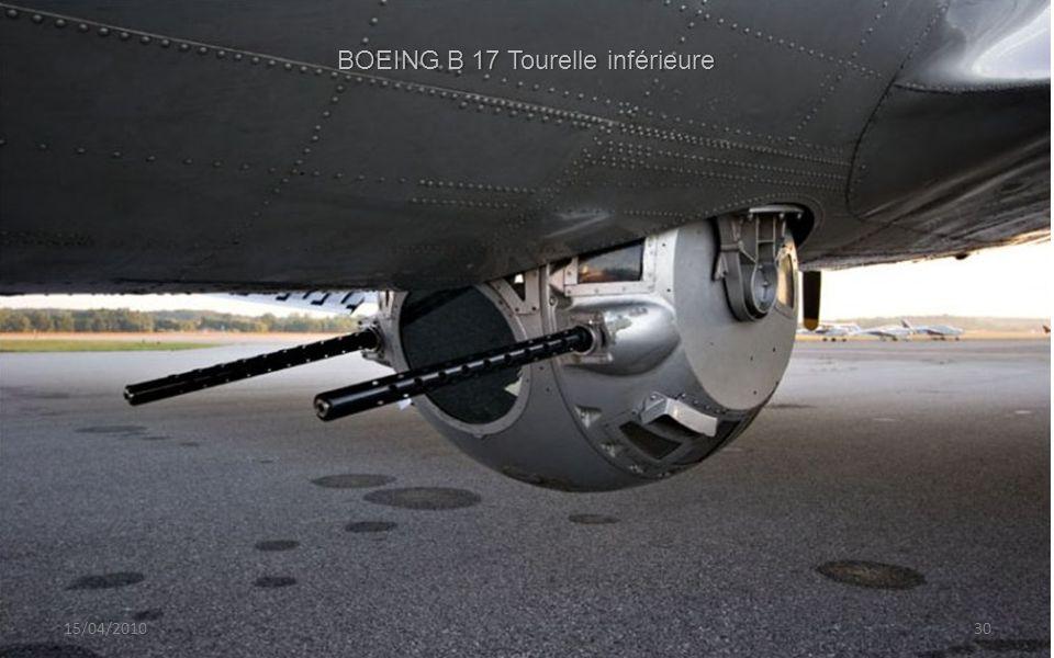BOEING B 17 Tourelle inférieure
