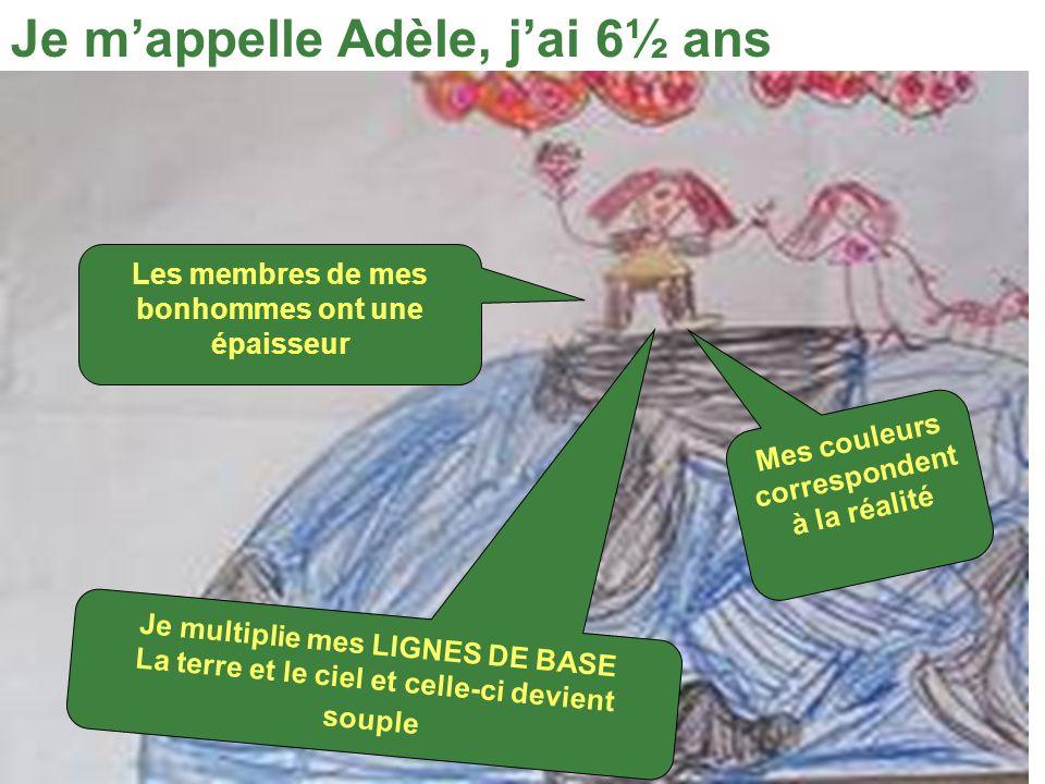 Je m'appelle Adèle, j'ai 6½ ans