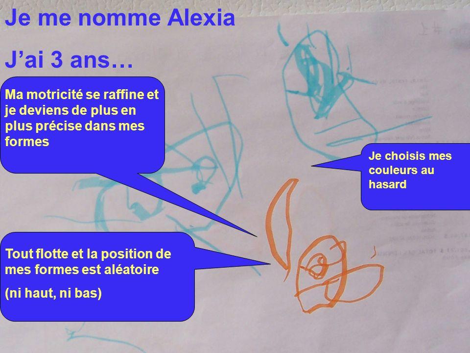Je me nomme Alexia J'ai 3 ans…