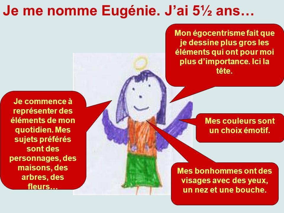Je me nomme Eugénie. J'ai 5½ ans…