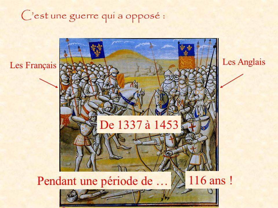 Pendant une période de … 116 ans !