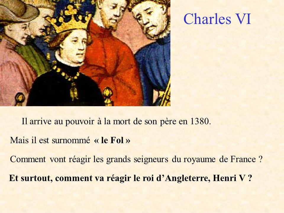Et surtout, comment va réagir le roi d'Angleterre, Henri V