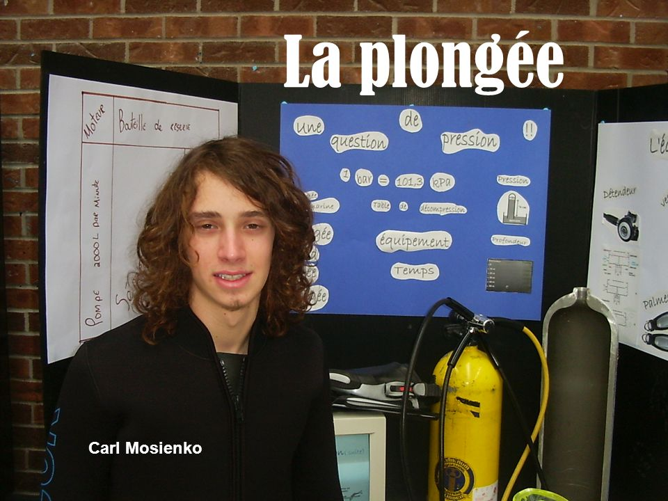 La plongée Carl Mosienko