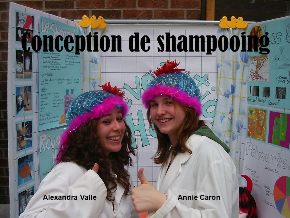 Conception de shampooing