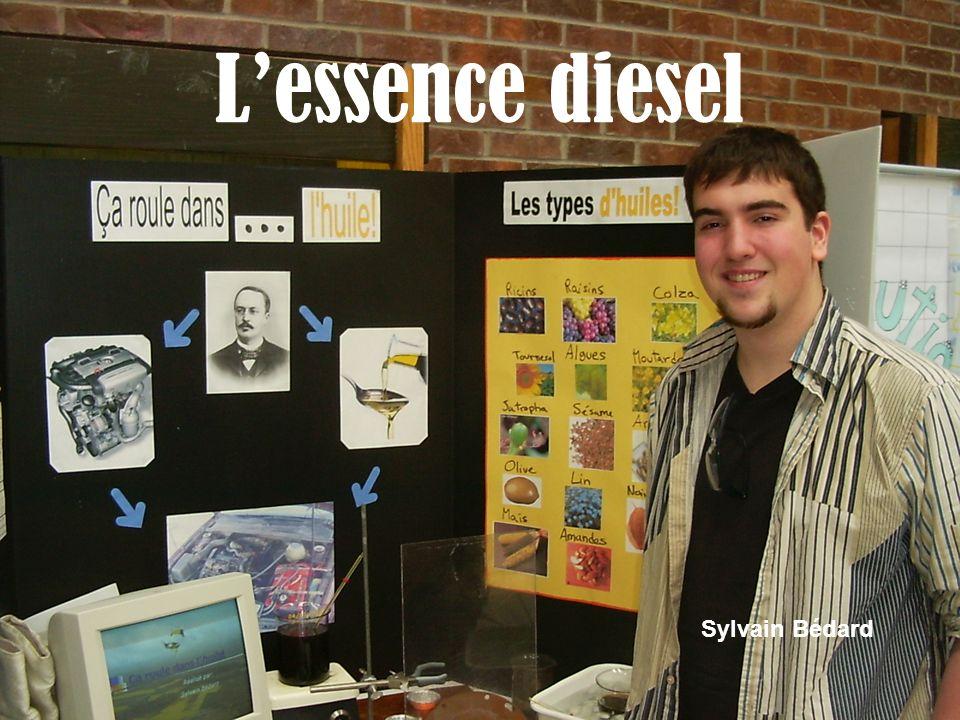 L'essence diesel Sylvain Bédard