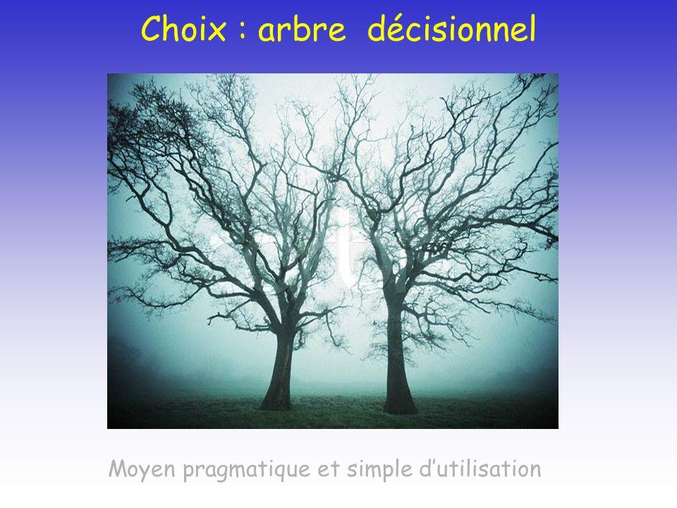 Choix : arbre décisionnel